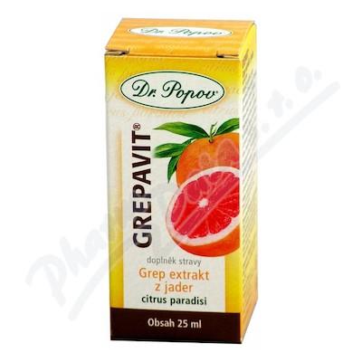 Dr.Popov Kapky Grepavit grep extrakt z jader 25ml
