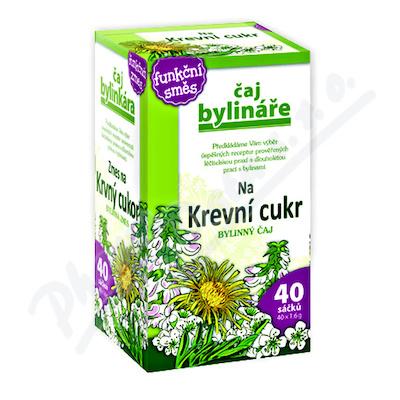 Čaj Bylináře Na krevní cukr (Diabetický) 40x1.6g