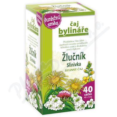 Čaj Bylináře Žlučník+slinivka 40x1.6g