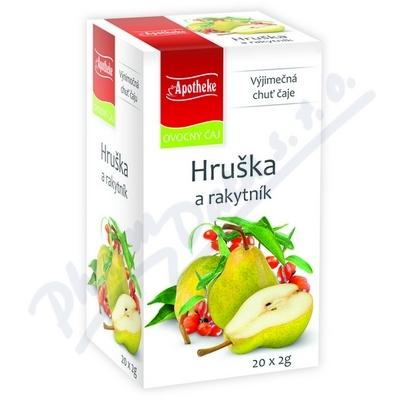 Apotheke Hruška a rakytník čaj 20x2g
