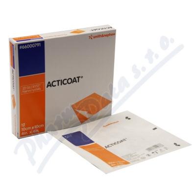Acticoat krytí antimikrobiot.s nanokry 10x10cm 5ks
