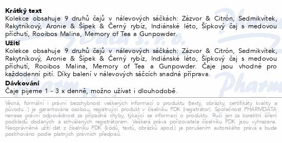 Grešík Velká čajová kolekce 9x10 n.s. přebal
