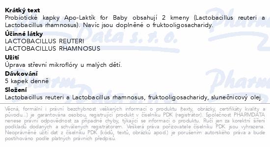 APO-LAKTÍK For baby 7.5ml