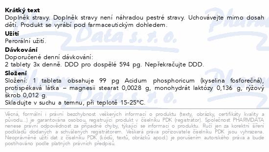 Acidum phosphoricum AKH por.tbl.60