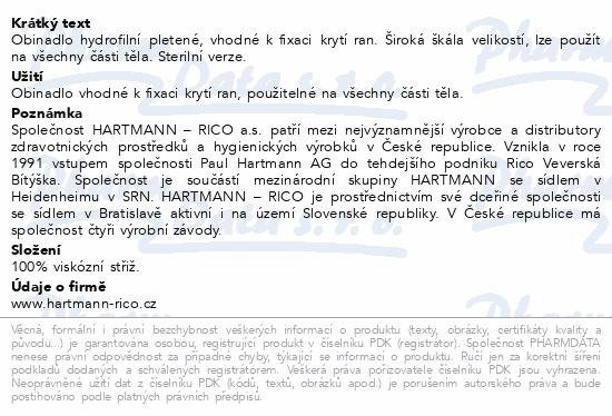 Obin. hydrofil.pletené sterilní 8cmx5m 3004080