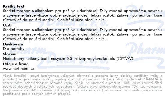 Tampon Soft-Zellin impreg.s alkoholem/100ks
