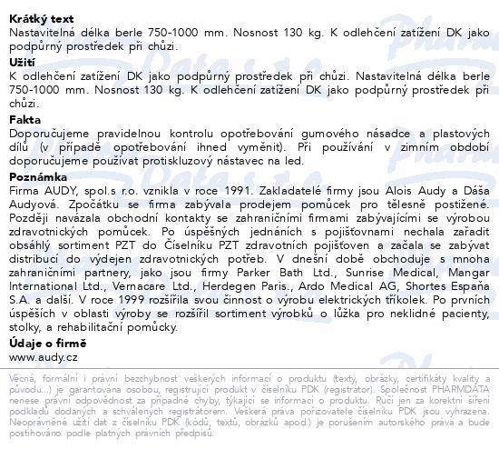 Berle francouzská předlok.vyměkčená JH01S-šedo/ora